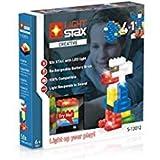 Light Stax S-12012Set, compatibili con Lego, con 50LED della Costruzione pietre in 6colori Plus Mobile Power Brick