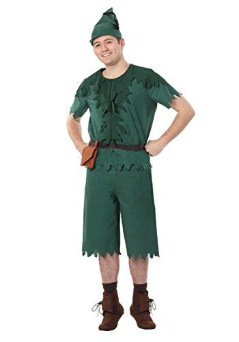 Adult Peter Pan Fancy dress costume X-Large