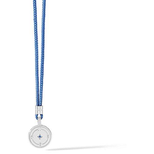 Prodotto: collana uomo gioielli comete passioni ugl 616 collana da uomo di comete della collezione passioni. girocollo in acciaio e zircone blu. la referenza È ugl 616