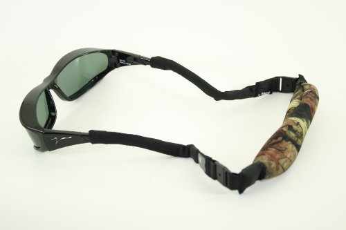 Hipster-fällen (Mode H2O Hipsters Floating Eyewear Retainer und Fall, Mossy Oak)