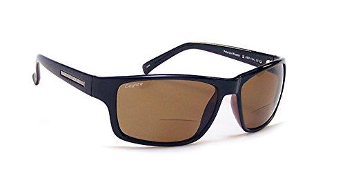 Coyote Eyewear Sonnenbrille bp-13Polarisierte Reader (2.00), schwarz