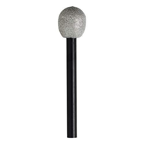 Widmann 4989M Mikrophon, Unisex- Erwachsene, Schwarz