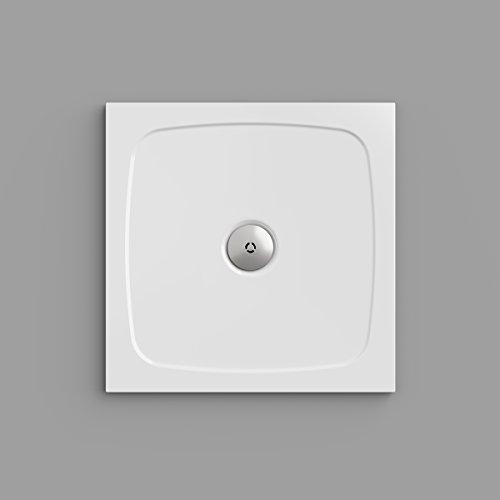 Simplex Duschwanne 90 x 90 cm, quadratisch