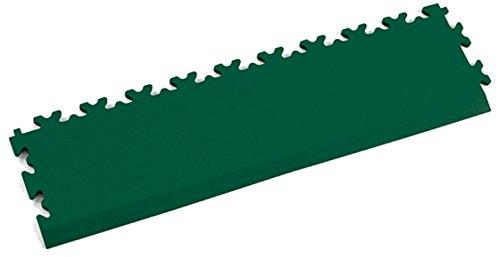 Fortelock® Abschluss/Auffahrrampe Vinylfliese 2025 (Leder) (Grün)