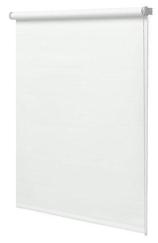 Estor Enrollable Translucido 90x180cm Liso Blanco