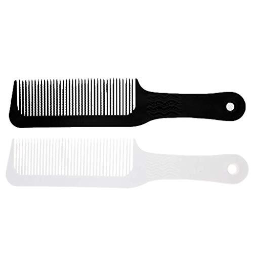 Ogquaton Pro 3pcs Barber Salon Flat Top Clipper Peine