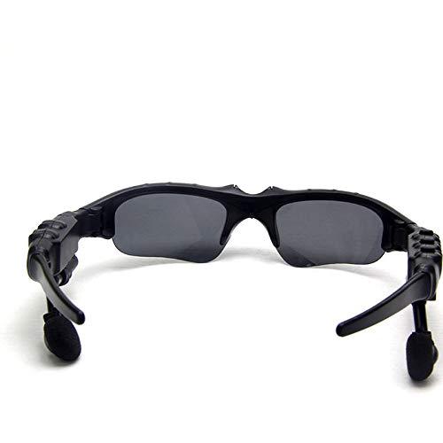 Ecloud Shop Bluetooth-Sonnenbrille, Musik-Freisprechanlage, Sonnenglas, kompatibel mit Smartphones (Musik-Sonnenbrille) (Lg Sonnenbrille)