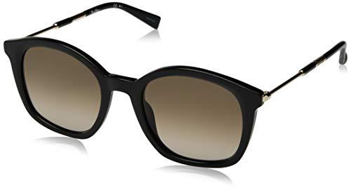 MaxMara Damen Mm Wand II Square Sonnenbrille Schwarz 51 mm -