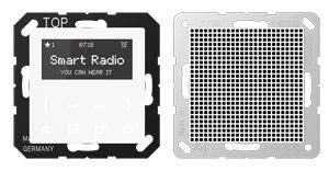 Jung Rad A 518 WW Smart Radio - Set Mono Serie A alpinweiß, 230 V