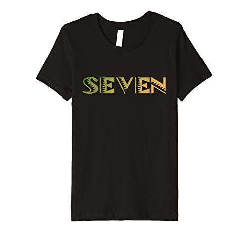 Seventh Birthday Kids T Shirt Al Mejor Precio De Amazon En SaveMoneyes