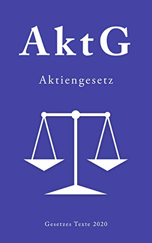 Aktiengesetz: Aktiengesetz 2020 AktG 2020