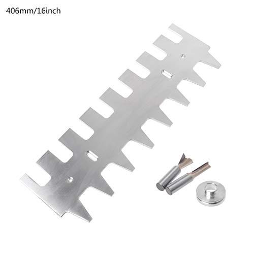 LLAni Schwalbenschwanz-Schablone 1/4-Zoll-Schaft gerade Bitführung Buchsen-Set 38,1 cm 40,6 cm Aluminiumlegierung Schubladen Zubehör 16