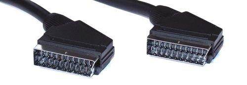 InLine® 89975 Scart Anschlusskabel, Stecker / Stecker, 5m