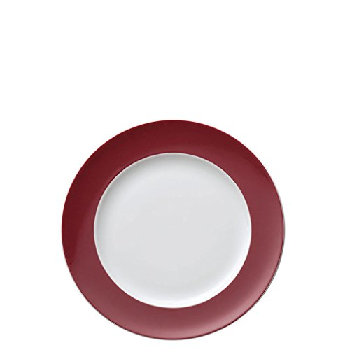Rosenthal Thomas - Sunny Day Frühstücksteller - Kuchenteller - Teller - Fuchsia - Rot Ø 22 cm Rosenthal Thomas Sunny Day