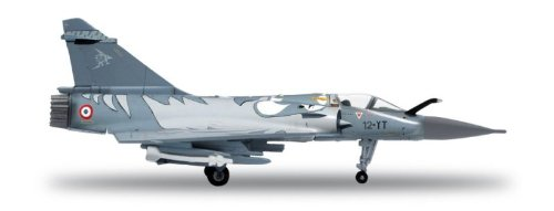 Herpa 554121 - Modellino cacciabombardiere francese Mirage 2000C AF Tiger M