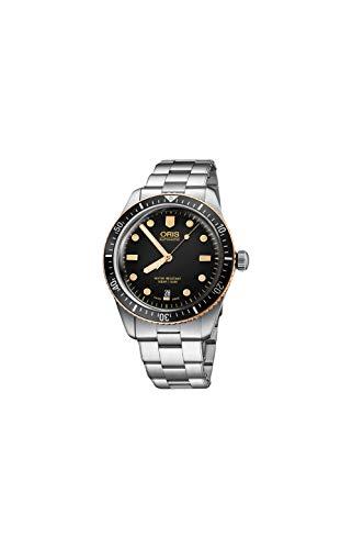 Oris Divers orologio automatico da uomo con quadrante nero 01 733 7707 4354-07 8 20 18