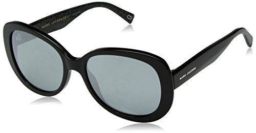 Marc Jacobs Damen Marc 261/S T4 NS8 56 Sonnenbrille, Black Glitter/Gy Grey,
