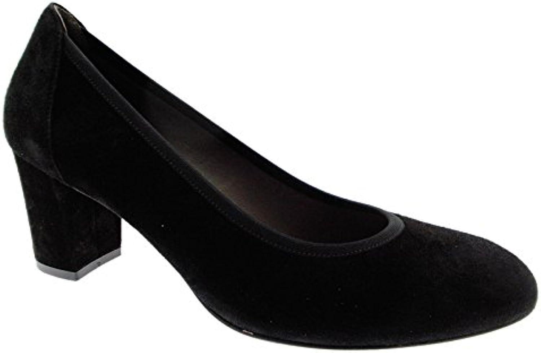 MELLUSO Femme D5095A de decolt Classique Chaussures Chaussures Chaussures en Daim NoirB076KM1YYQParent | De Qualité Constante  3be95c