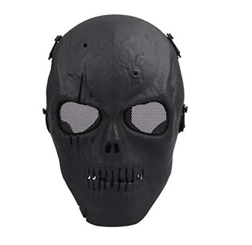 Kostüm Clown Kinder Tanz - LIJING Halloween Mask Masquerade Dress Up Maske Junge Hip-Hop Tanz Requisiten Ball Party Kostüm Masken Cosplay Scary Solid Full Face Für Erwachsene