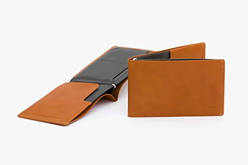 Bellroy Leder Geldbörse und Reisepass Hülle Travel Wallet; Farbe: Java - RFID Black - RFID