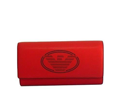 Emporio Armani - Cartera Mujer Rojo Rojo 19 x 10 x