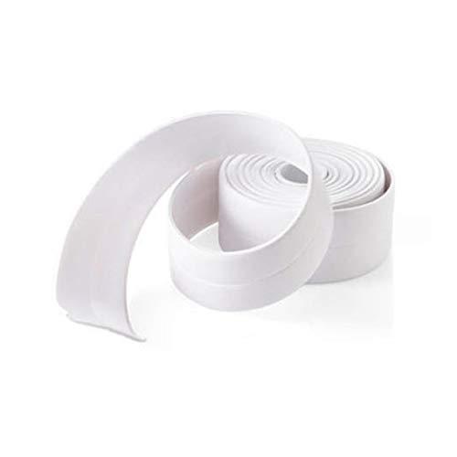 3.2mx3.8cm schimmelbeständig Küche Sealing Streifen-wasserdicht Badezimmer-Wand-Aufkleber Self Adhesive Bad Dichtungsband -