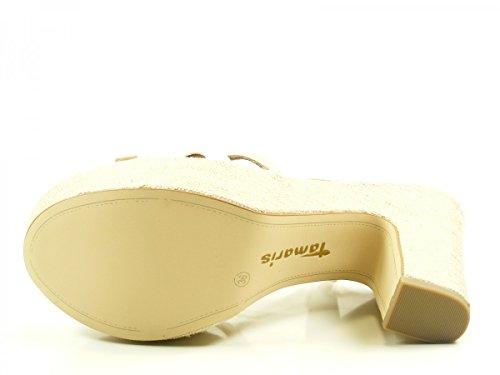 Tamaris 1-28334-28 sandales mode femme Braun