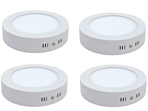 Citra 6W LED Surface Panel Light - Pack Of 4