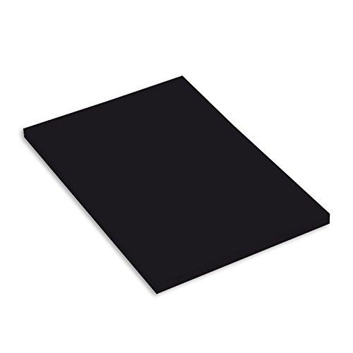 Canson 200361667 Mi-Teintes farbiges Zeichenpapier, A4, schwarz 425