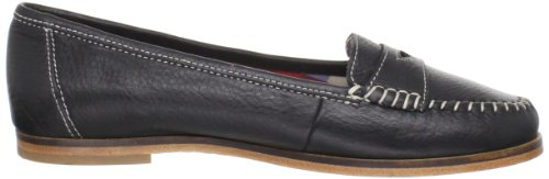Hush Puppies Root Slip-on Loafer Black Leather