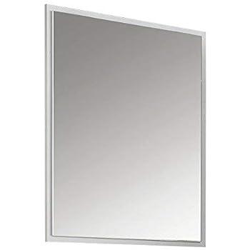 Spiegel Badspiegel Badezimmerspiegel Badmöbel Wandspiegel Weiß Glasablage
