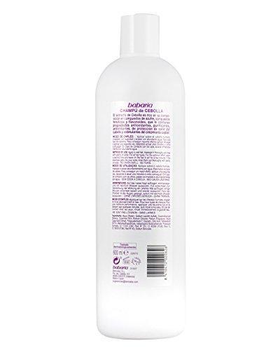 311he2UW5bL - Babaria Cebolla Antioxidante - Champú, 600 ml
