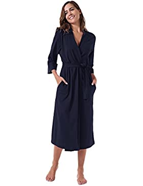 SIORO Donna Vestaglia da Notte Kimono vestaglia camicia da notte vestaglia camicia da notte