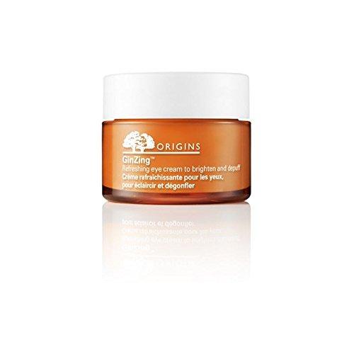 Origines Ginzing Rafraîchissant Eye Cream Pour Illuminez Et Depuff 15ml (Pack de 4)