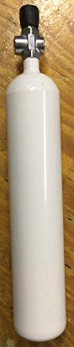 Botella de buceo, 3litros, 300 bar, con válvula