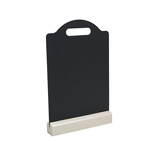 T&G Woodware - Lavagna per gessetti, misura: L, serie: Colonial Home, tassello di supporto color panna