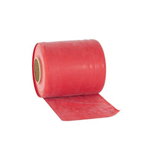 Rolyan - elastico a media resistenza per esercizi ginnici, 46 m, colore: rosso