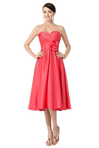 Promgirl House - Robe - Trapèze - Femme Rouge - Wassermelone