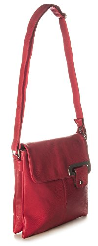 Big Handbag Shop - Borsa a tracolla donna (Cammello)