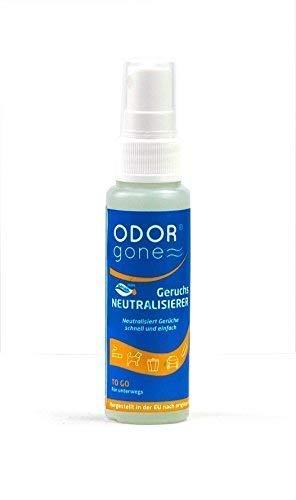 Geruchsneutralisierer OdorGone 100% Natürlich mit ätherischen Ölen⭐Umweltfreundlicher Geruchsentferner (50ml) - Geruchsneutralisator für alle Oberflächen & Textilien⭐luftreinigender Raumerfrischer
