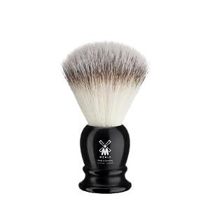 Mühle Classik Rasierpinsel, Ringgröße L 23mm, Silvertip Fibre®, Edelharz schwarz