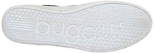 Bugatti J7605pr6n, Sneakers Basses Femme, Weiß Noir (Schwarz / Weiss 111)