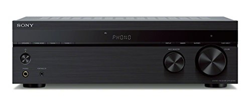 Sony 2-ch Stereo Receiver with Phono Inputs and Bluetooth