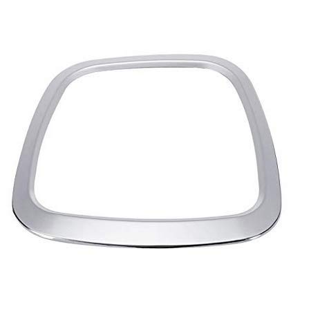 YONGYAO Alluminio Lega Volante Auto Adesivo Corpo Emblema Il Trim per Audi A3/A4/A5/Q5/Q7