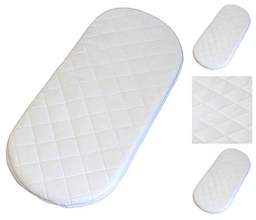 160 X 80 X 10 cm Quilted Breathable Waterproof Baby Toddler Cot Bed Moses Crib Foam Mattress