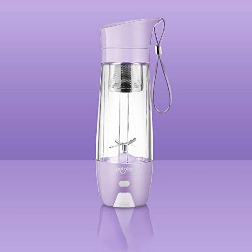Lxdzgm Kleine Haushaltssaftpresse Göttin Saft Tasse mit Saft Tasse tragbares Zuhause automatische @ Lila lila
