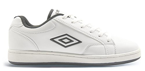 Umbro Scarpe Uomo Medway 40202U 096 White/Black,simil stan smith (42.5)