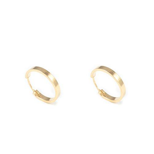 089a001bd9d6 ℹ️ Mejores Pendientes de Aro de Oro Grandes - Baratos