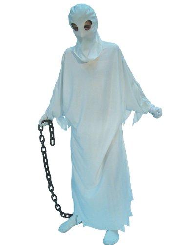 Gespenst Geist Kostüm für Erwachsene Gr. M/L, Größe:L (Gespenst Geist Kostüm)