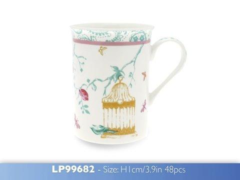 Leonardo [lp99682] Papillon Fleur Porcelaine Fine, Latte Mug pour Maman, Nan, Gran ou Grandma, Coffret Cadeau, idéal pour Cadeau